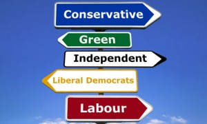 political party signpost