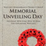 Watchet War memorial poster