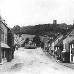 ancient cobbled dunster