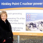 Andrea Leadsom at Hinkley C November 2015